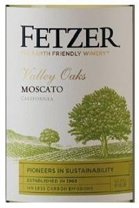 Fetzer Moscato Valley Oaks